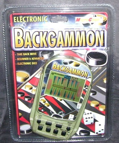 MicroGear Electronic Backgammon Game -