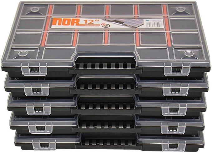 5 x Sortimentskasten Kleinteilekasten Sortierbox Nähkästchen Sortimentskoffer