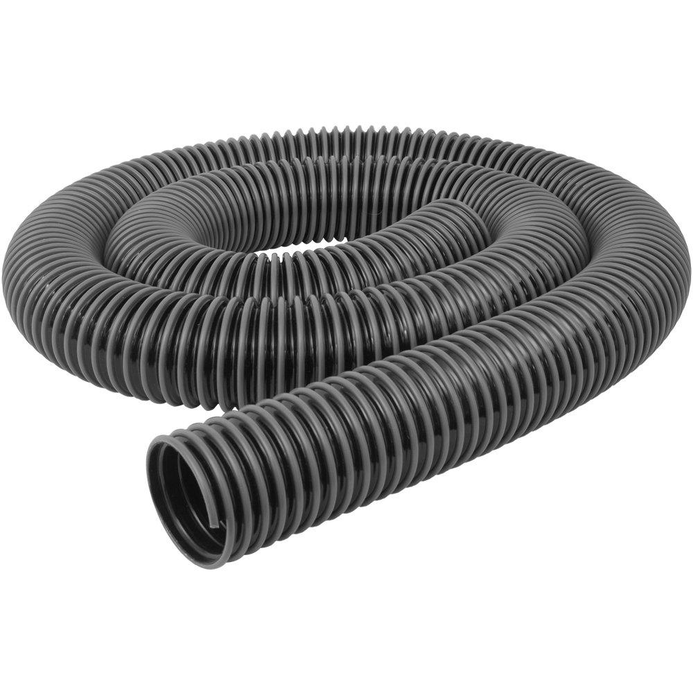 Fulton 4 X 10 Ft Anti-static Black W/gray Helix Flex-hose made in USA