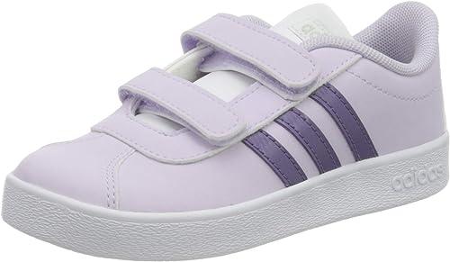 Perla confirmar Porque  adidas Chaussures de Marche pour bébé VL Court 2.0 CMF - - Purple Tint Tech  Purple Footwear White, 19 EU: Amazon.fr: Chaussures et Sacs
