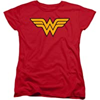 Popfunk Wonder Woman Logo Women's T Shirt & Stickers