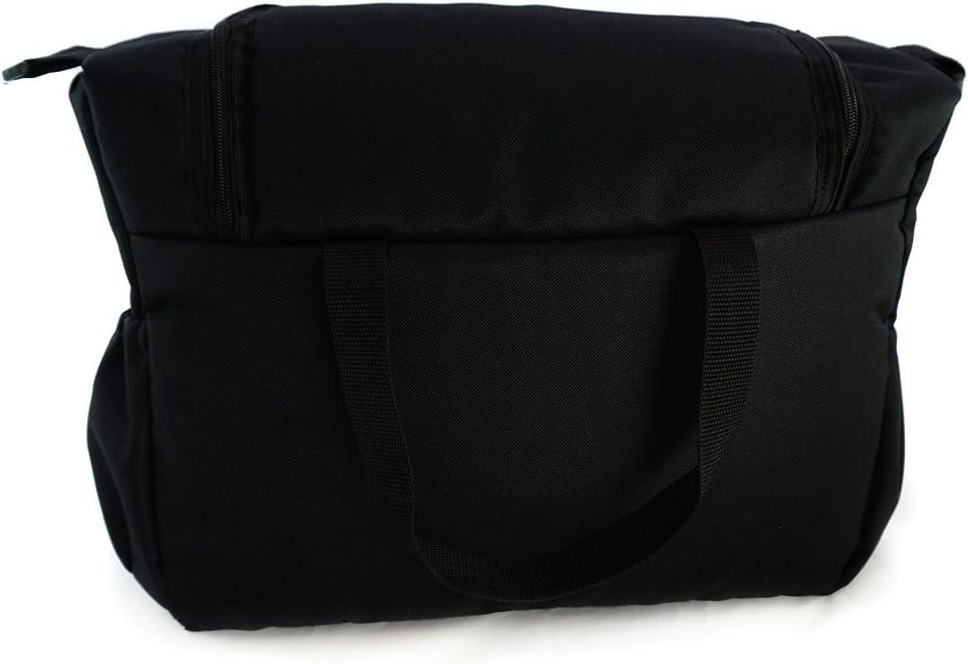 059 Sac-poussette sac /à langer grande capacit/é pour la poussette un sac de voyage un sac pour les accessoires une mallette de transport noir Black