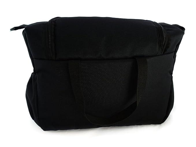 Bolso Para silla de paseo organizador Bolsa para pañales Black Negro [059]: Amazon.es: Bebé