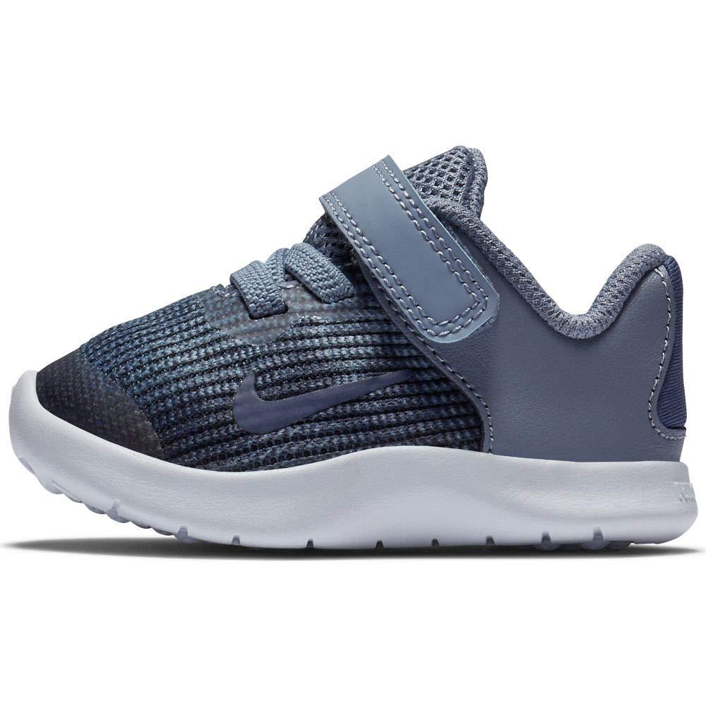 Nike Boy's Flex 2018 RN (TDV) Running Shoes (10 Toddler M, Ashen Slate/Blue Void)
