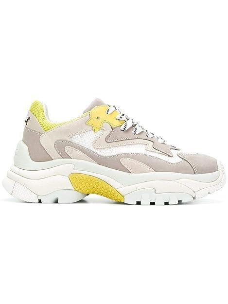 0418aa46b03 Ash Mujer Addict10 Beige Cuero Zapatillas  Amazon.es  Zapatos y complementos