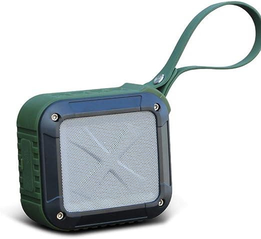 Cuadrado Inalámbrico Bluetooth 4.0 Altavoz Exterior Mini portátil Bajo a Prueba de Agua Caída Inicio Audio portátil portátil (Color : Green): Amazon.es: Hogar