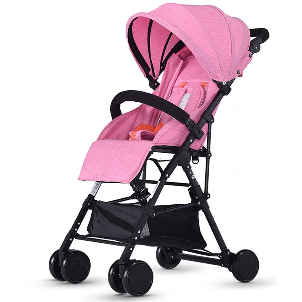 Cochecito de bebé Cochecito Plegable Cochecito de Viaje Infantil Ligero
