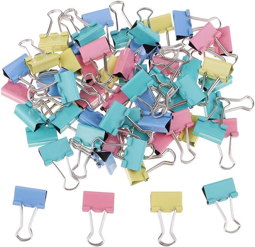 IPOTCH 60 St/ück Vielzweckklammern aus Metall zur B/üroorganisation B/üroklammern zum Verschlie/ßen von Plastikt/üten