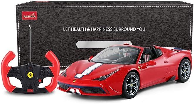 Rastar Ferrari Remote Control Car 1 14 Ferrari 458 Special A Red Toy Car Convertible Auto Open Close Amazon De Spielzeug