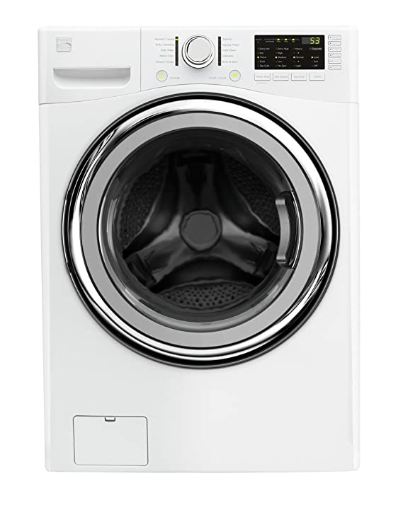 Kenmore 41302 4.5 cu ft. Front Load Washer with Steam and Accela Wash in White, includes delivery and hookup best front loading washer