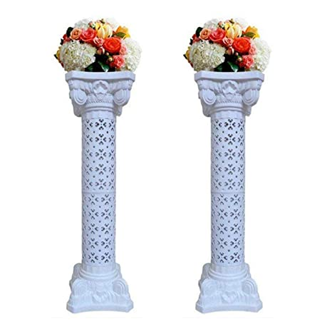 How To Make Diy Lighted Wedding Columns.Elegant Wedding Roman Column Set Pillars Decoration Party Flower Pot Columns Decor Roman Columns For Weddings 1 Pair