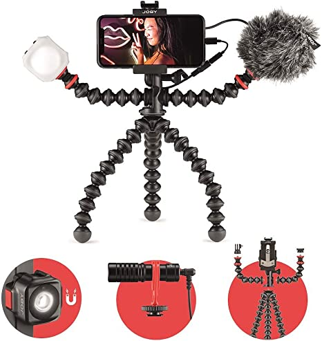 JOBY GorillaPod Mobile Vlogging Kit (Carcasa Smartphone, Wavo ...