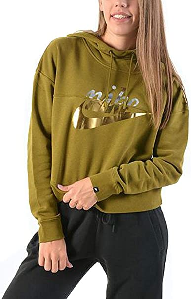 Nike Rally Logo W hoodie grey heather