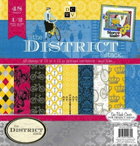 DCWV Die Cuts With a View The District 12