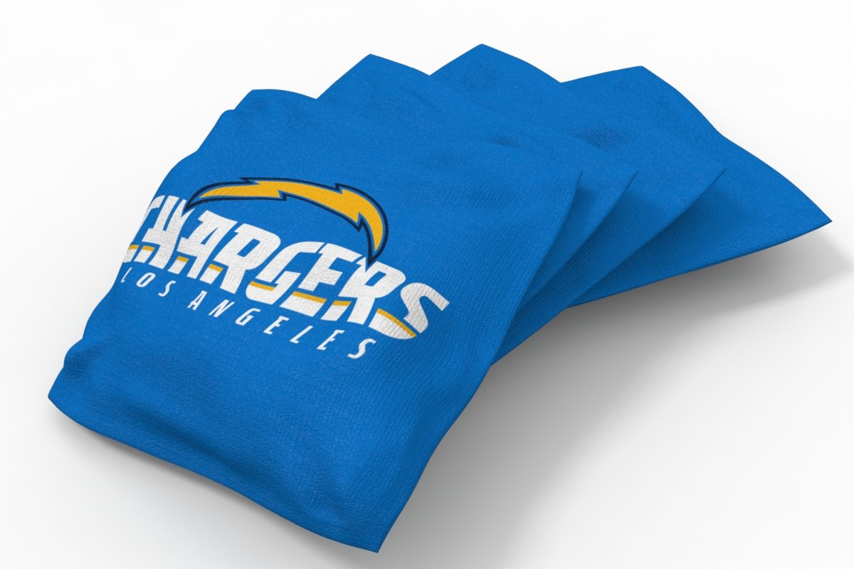 PROLINE NFL Los Angeles Chargers 2'x4' Cornhole Board Set - Logo Design by PROLINE (Image #2)
