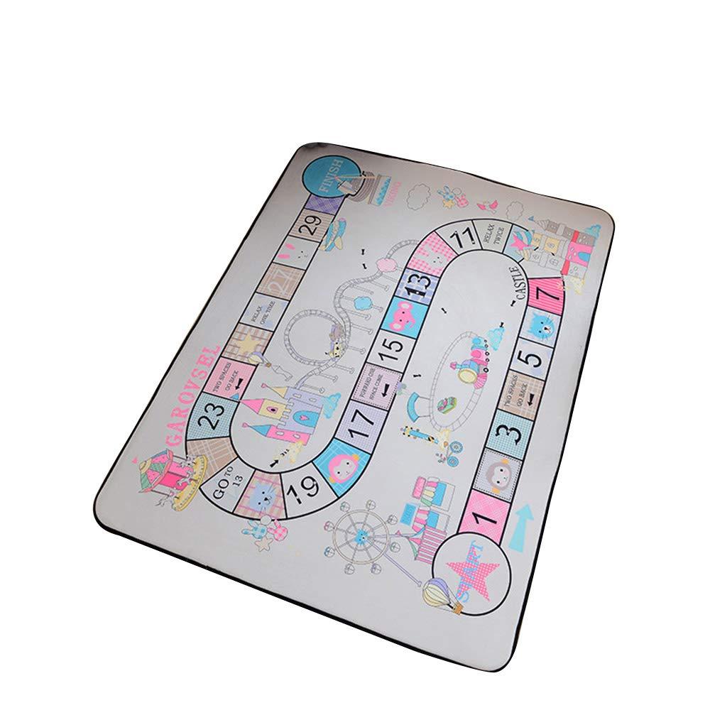 VClife® Teppiche Polyester Matte Kinderteppich Baby Krabbeldecke Kinder Spielteppich Geschenk Yoga Teppich Picknick Matte 150 x 200cm Freizeitpark