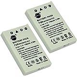 DSTE® 2x EN-EL5 Rechargeable Li-ion Battery for Nikon Coolpix P510 P520 P530 P5100 P6000 S10 P3 P4 P80 P90 P100 P500 Digital Camera