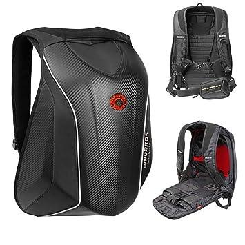 FLBTY Mochila para Moto Mochila para Deportes Al Aire Libre Mochila para Montar Negro Invisible: Amazon.es: Deportes y aire libre