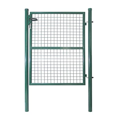 Recinzione Giardino Fai Da Te.Hengmei Giardino Porta Cancello Portone Di Recinzione Giardino Con