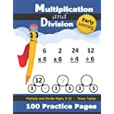 Multiplication and Division: Times Tables Workbook (With Answer Key) - Multiply and Divide Digits 0-12 - KS2 (Ages 7-11) (Gra