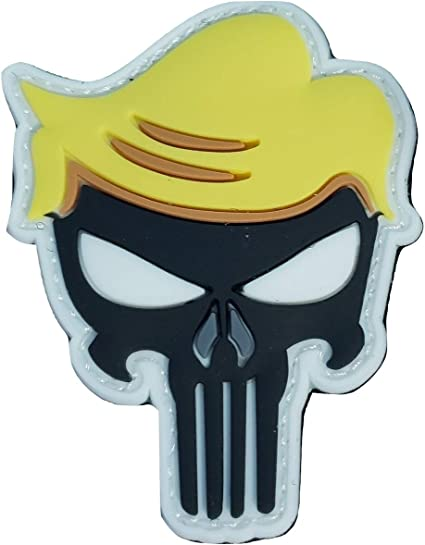 PUNISHER SKULL GLOW in the DARK  Sticker