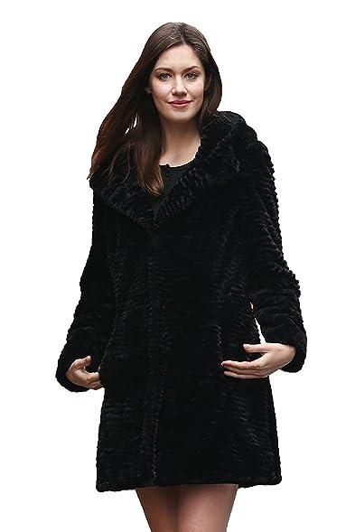 Adelaqueen Women's Winter Style Luxurious Persian Lamb Fabulous ...