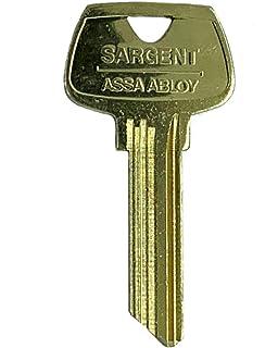 Sargent 6 Pin Key Blank 6270 RD Keyway Factory Original Pkg of 10