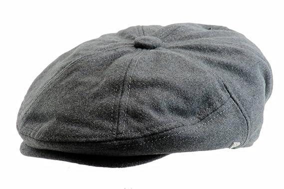 b68f52ddc14 Amazon.com  New Era EK Don Gatsby Cap - Grey - M  Clothing