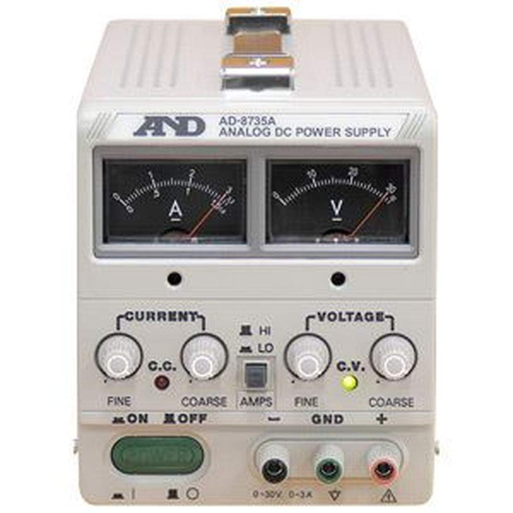 A&D---エーアンドデイ---電子計測機器直流安定化電源---30V、3A---AD-8735A--   B07TSBNXW1
