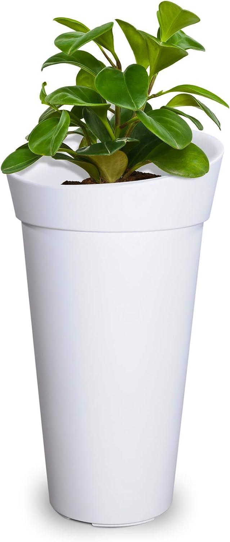 Mayne 5881-W Polyethylene Planter, White