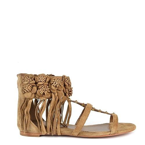 Sandals Ophely Fringed Ash Suede Wilde Footwear Qdscxtrh 37eu4uk 0OPX8nwk