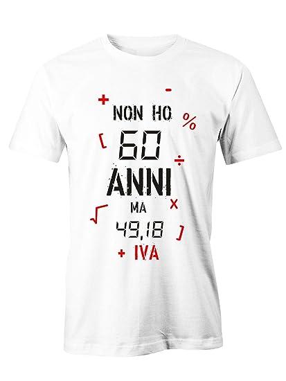 Puzzletee T Shirt Compleanno Non Ho 60 Anni Ma 49 18 Iva Idea