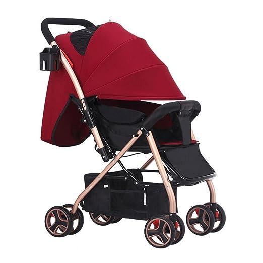 ZHAOJING Los cochecitos de bebé pueden sentarse Cochecitos ...