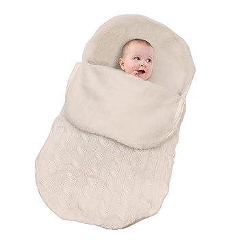 CYDKZMEPA Bolsas de Dormir del bebé, Bolso Grueso de Dormir Caliente ...