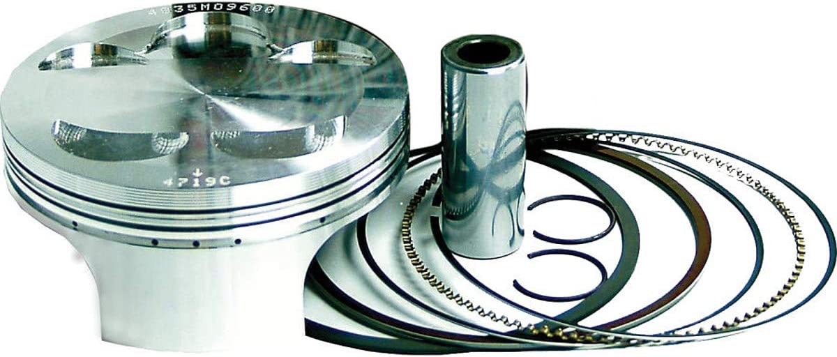 Wiseco Forged Piston Kit w// Rings Pins Circlips Gaskets 449M05700 MADE IN USA