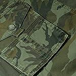 Panegy Adultes Combat Shorts pour Homme/Garçon Coton Bermudas Treillis Militaire Cargo Armée Pantalon de Travail… 13