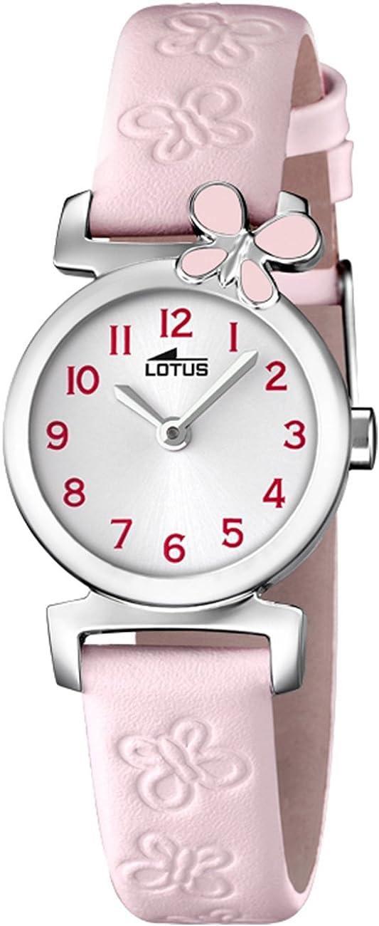 Lotus Reloj Analógico para Niñas de Cuarzo con Correa en Cuero 15948/2
