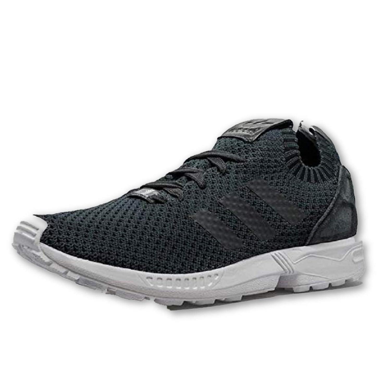 brand new e1bc0 97196 Amazon.com   Adidas Originals ZX Flux Primeknit Solid Grey White Black  S75972 Men s Us size 12   Athletic
