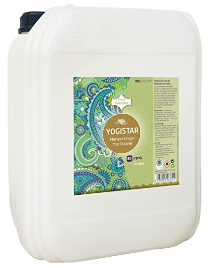 Yogistar Bio esterillas de Yoga - Limpiador Fresh Rose Mary ...