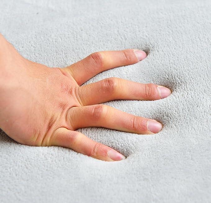 Engrosamiento Coral Terciopelo Alfombra Manta de rastreo para niños Alfombras (Gris,150 * 150CM): Amazon.es: Juguetes y juegos
