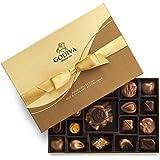 GODIVA Chocolatier Gift Box, Nut & Caramel, 19 Count