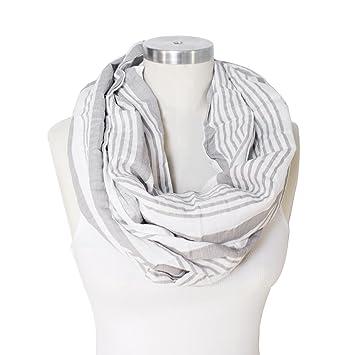Stylish /& Discreet for Breastfeeding 100/% Cotton Breathable /& Lightweight Bebe au Lait Premium Cotton Nursing Scarf Montauk