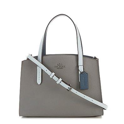 a7903fed53 Coach Charlie Carryall 28 with Colorblock Snakeskin Detail  Handbags   Amazon.com