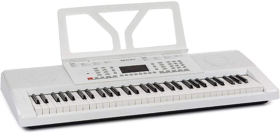 Schubert Etude 61 MK II Teclado Digital • Teclado • 61 Teclas • Función Aprendizaje/grabación – 50 Morceaux de demostración • 300 Sons/Ritmos • ...