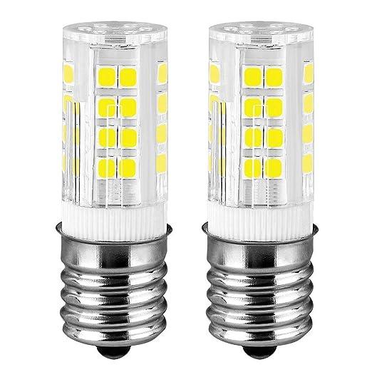 Bombilla LED de cerámica E17 para microondas y horno, 4 W ...