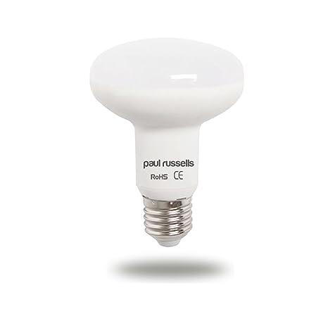 Pack de 2 bombillas LED reflectoras de repuesto de 12 W E27 ES Edison a rosca, ...