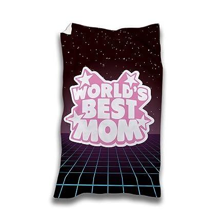 Toalla Playa Idea regalo día de la madre World s Best Mom mejor madre