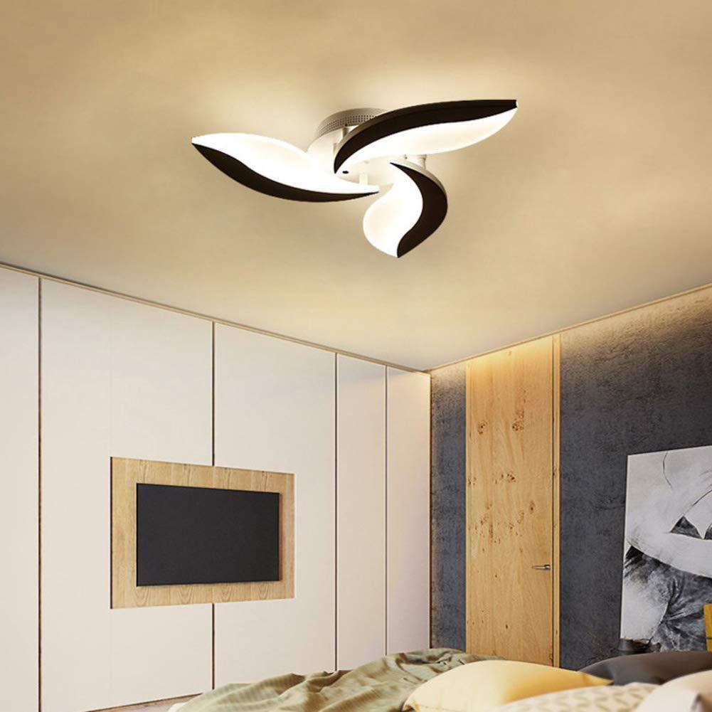 CCSUN LEの 表面実装 シーリングライト, Modren な 天井灯 クリエイティブ インテリア照明 の:60 cm-3頭-36W 無段階調光 無段階調光 3頭-36W B07S92ZW5N