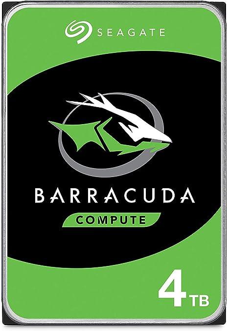 Seagate BarraCuda, 4TB, Unidad de disco duro interna, HDD, 3,5 in ...