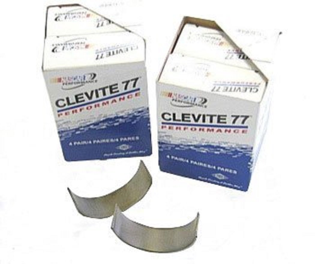 SBC CHEVY 327 350 383 400 CLEVITE ROD BEARINGS FULL SET 'HN' SERIES CB663HN. Choice of Sizes. (std rods) Clevite 77